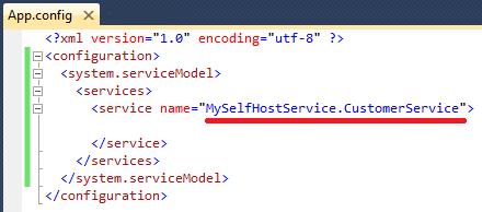 Configurando os serviços.