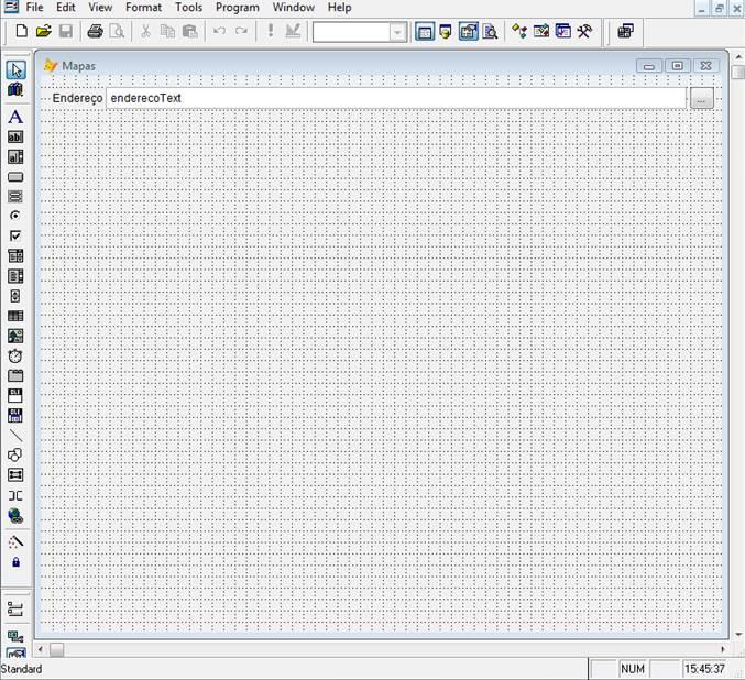 Nova formatação do formulário