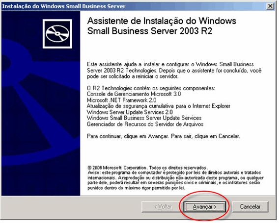 Windows 2003 Small Business Server