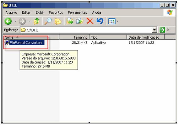 pacote de compatibilidade office 2007
