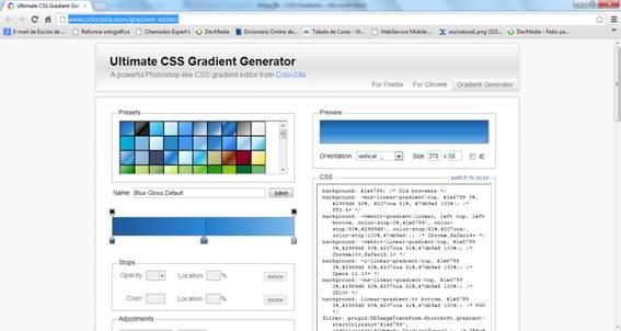 Ultmate CSS Gradient Generator