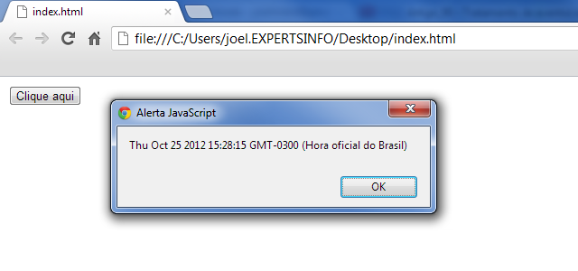 Código executando dentro de uma função