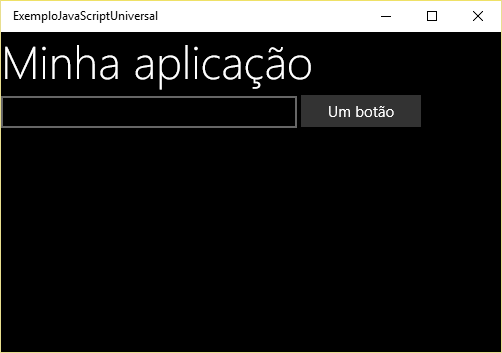 Interface com aparência nativa do Windows