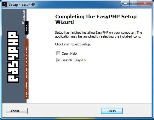 easyphp 5.3.9