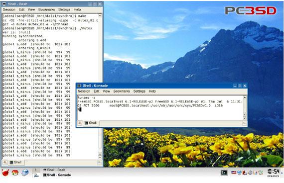 Programao multithread em ambiente unix como criar e sincronizar 2 figura 3 freebsd 61 pcbsd fandeluxe Gallery