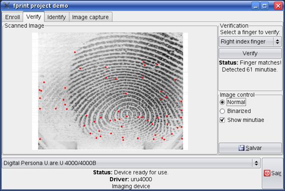 fprint: Biometria livre, completa e total!