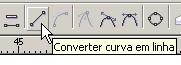 converter curva em linha