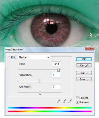 Colorização dos olhos Img4