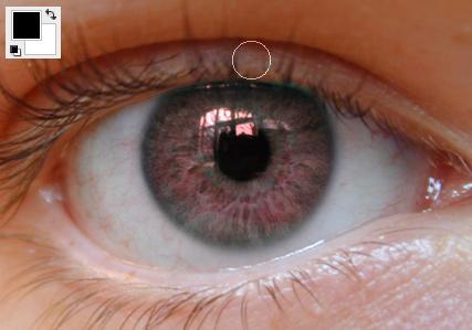 Colorização dos olhos Img8