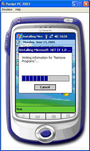 emulador pocket pc microsoft: