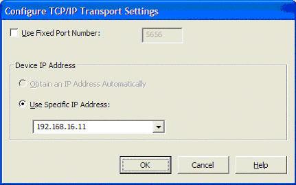 Configurando IP da placa Wireless do Pocket PC para o Deployment