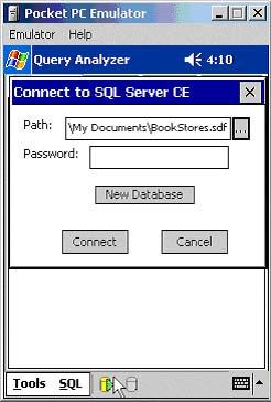 Conectando ao banco de dados do SQL Server CE