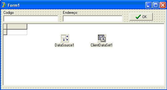 Criando dinamicamente campos em um componente clientDataSet
